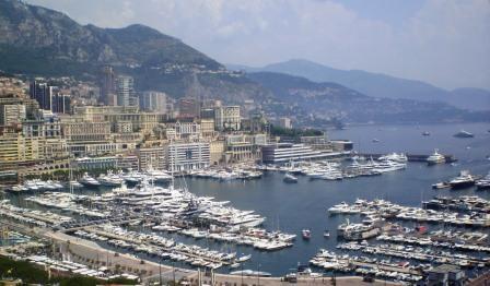 Порт Эркюль в Монако: самый главный порт княжества