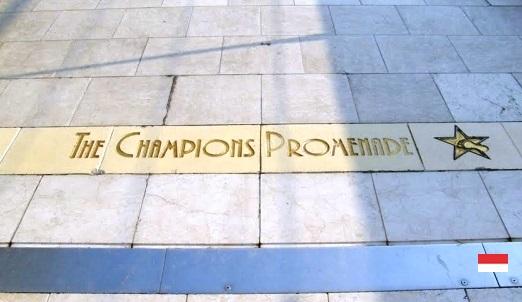 Аллея Чемпионов в Монако