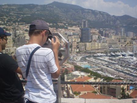 Красоты порта Эркюль в Княжестве Монако