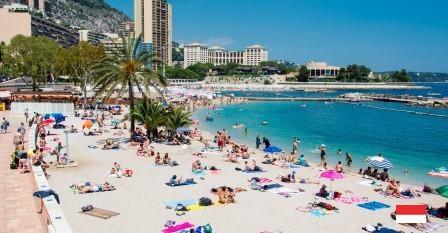 Пляжный отдых в районе Ларвотто - Монако