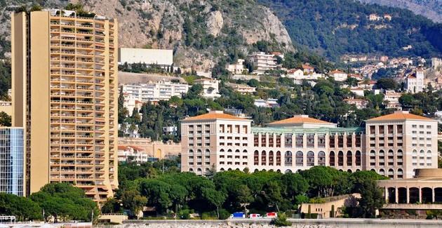 Красивейший район Ларвотто в Монако
