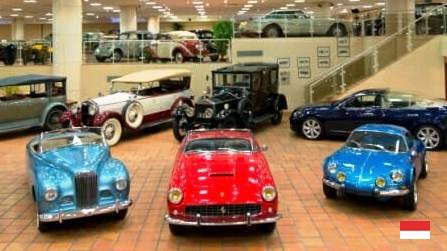 Музейная коллекция старинных автомобилей принца Ренье III в Монако