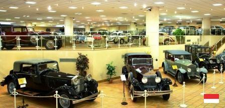 Музейная коллекция авто Ренье Третьего в Монако