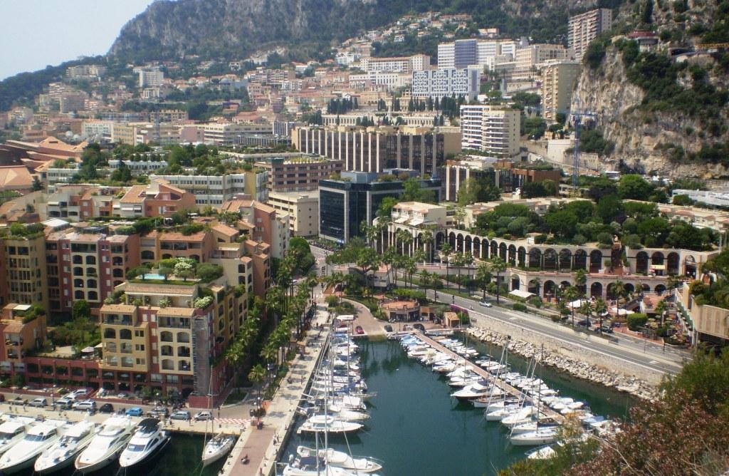 Район Фонвьей в Monaco
