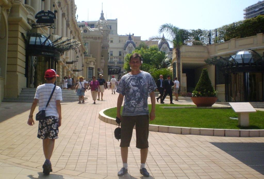 Район Монте-Карло в Княжестве Монако