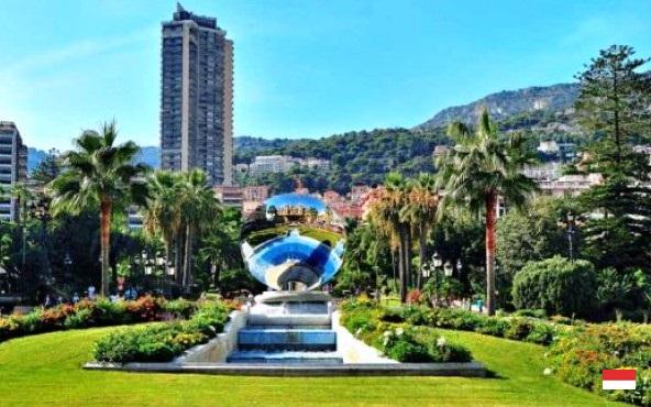 Сады казино в Монте-Карло: описание и красивые фото