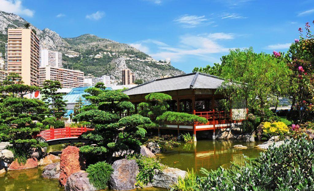 Японский сад в Монако: красоты Японского оазиса в Европе