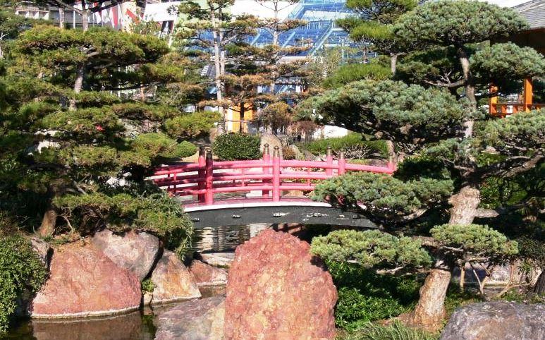 Красоты Японского сада в Монако