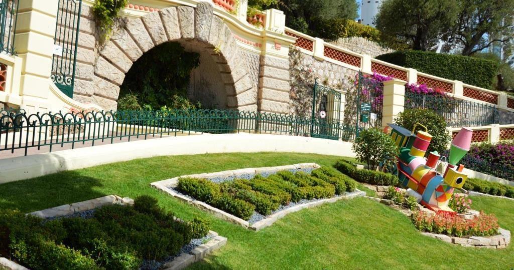 Парк Принцессы Антуанетты в Монако (Монегетти)