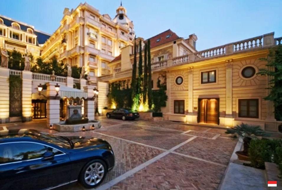 Отель Hotel Metropole Monte-Carlo (Метрополь)
