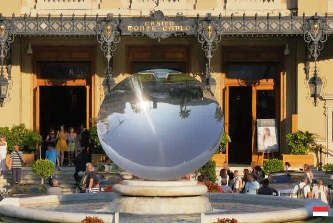 Скульптура «Небесное зеркало» Монако